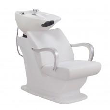Salon Backwash Basin Beckman II - Adjustable Seat, LED light