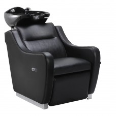 Salon Backwash Basin Callisto - electric leg rest