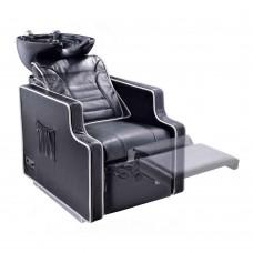 Massage Backwash Basin Adriano - electric leg rest