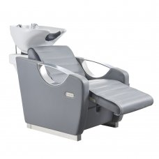 Salon Backwash Basin Victoria - electric leg rest